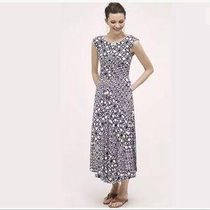 Anthropologie Maeve Mallorca Maxi Dress Low Back